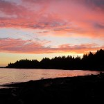Roberts Creek sunset - © Gillian Knox - GillianKnox.com
