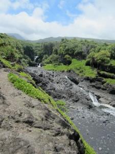 Hawaiian lava flows - © Gillian Knox - GillianKnox.com